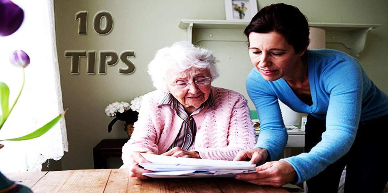 10 Tips for Communication (Alzheimer's CareGivers Guide)
